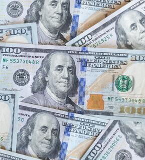 Image of U.S. paper currency
