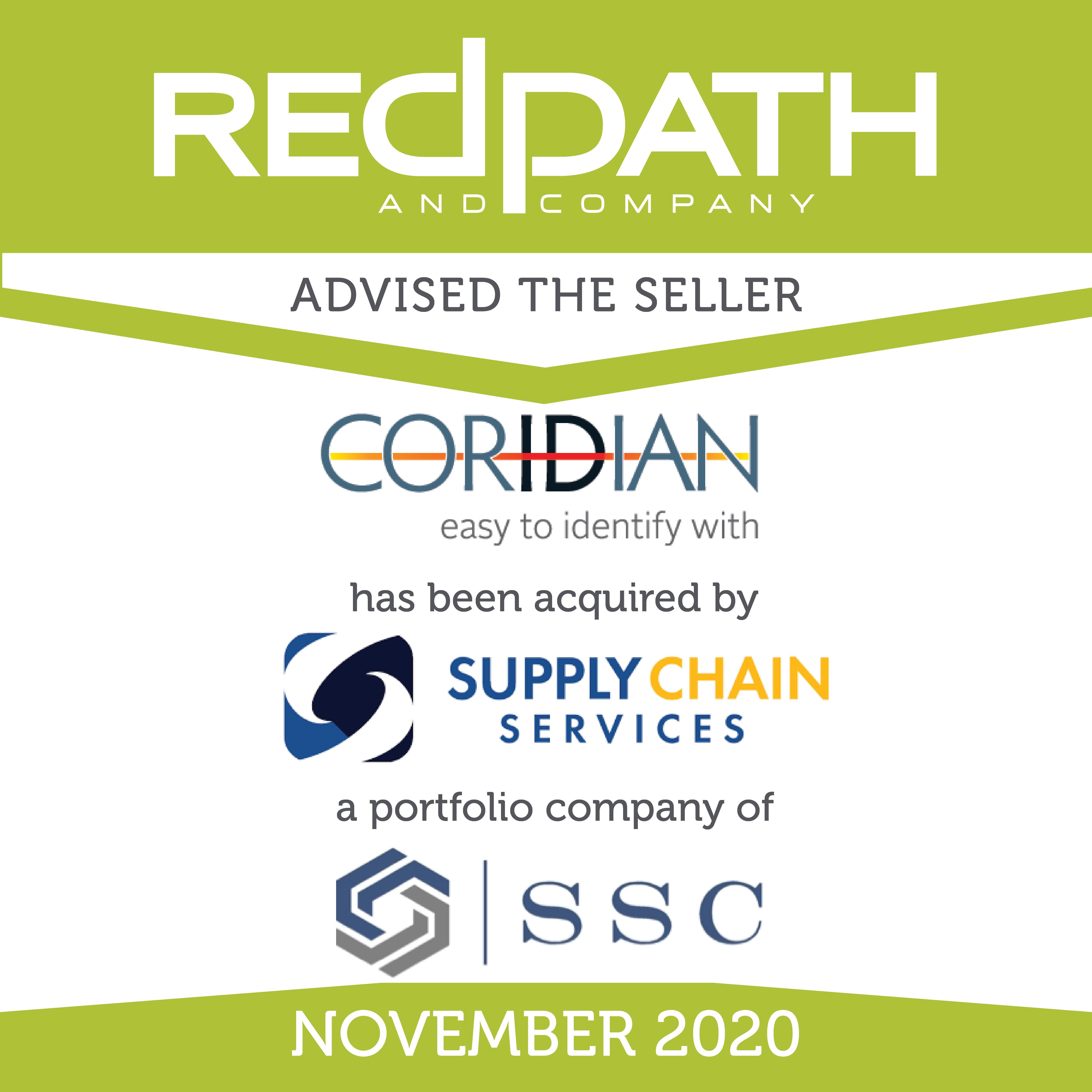Coridian-SupplyChainSSC1120